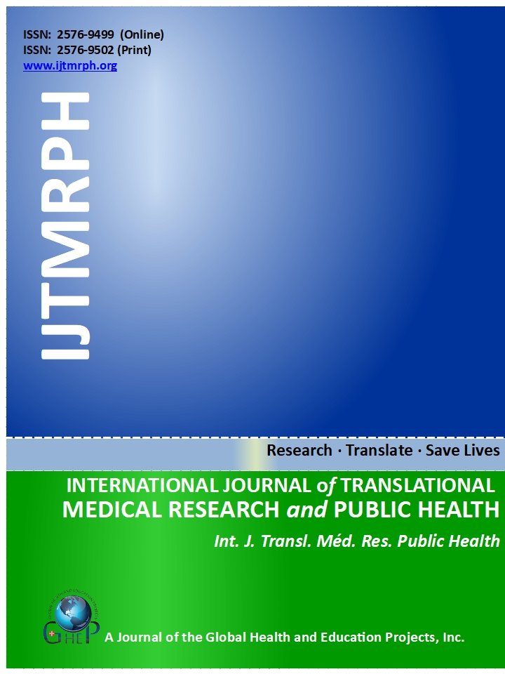 International Journal Of Translational Medical Research